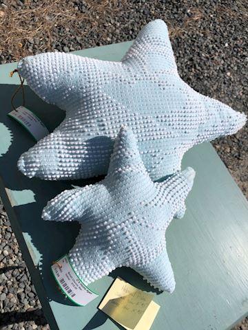 Pair Handmade Star Pillows