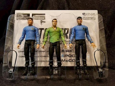 Star Trek Figures Kirk-Spock-McCoy