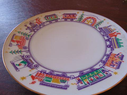 German Christmas Plate