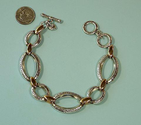 Brighton Two-Tone Link Bracelet