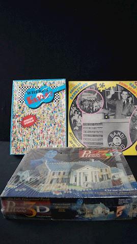 Lot #78 Set of Elvis Puzzles