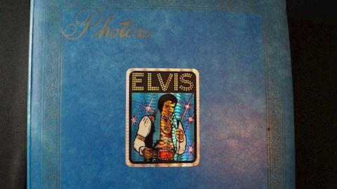 Lot #34 Elvis Memorabilia Binders Set
