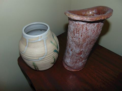 Two Pottery Pieces