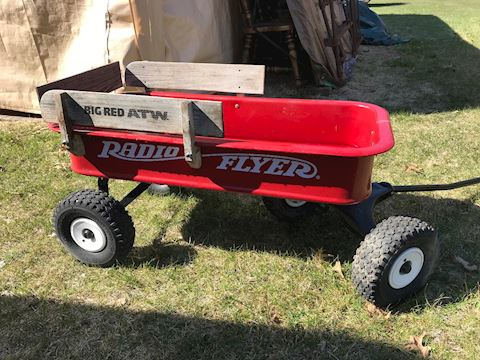 Big Red ATW Radio Flyer Coaster Wagon
