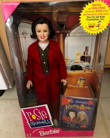 Rosie O'Donnell - Friend of Barbie