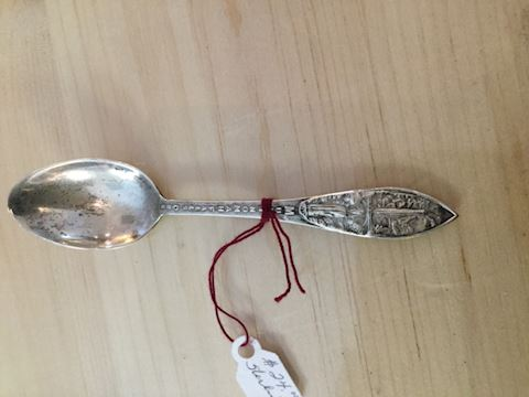 Sterling silver spoon eb32