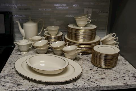 Lenox Citation Gold Fine China Temple Collection