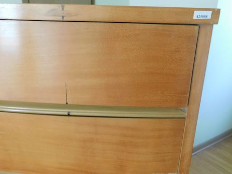 088 Light Brown Dresser