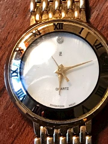 Ladies Watch Mother of Pearl face  Roman Numerals