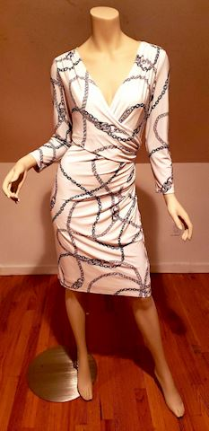Ralph Lauren Demi Wrap Dress Hermes Links Design