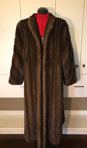 Vintage Saks 5th Avenue Revillion Sable Coat