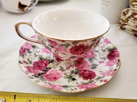 Gracie China  Teacup and Saucer