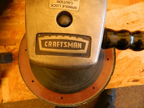 Heavy Duty Craftsman Disk Sander, Cutter or Buffer