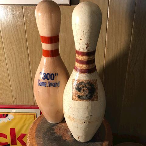 2 bowling pin