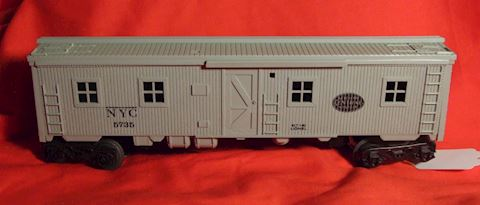 5735 THIS NEW YORK CENTRAL BUNK CAR