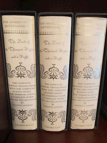 Arabian Knights Hardback Books Lot A