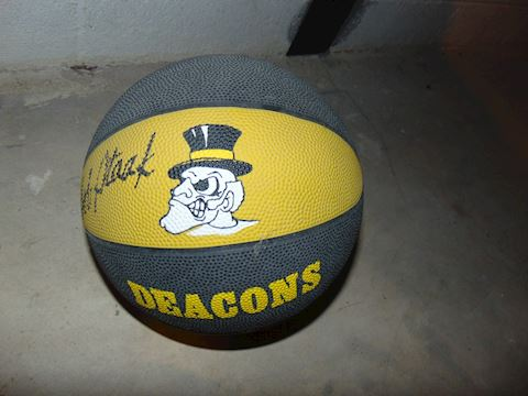 Bob Staack Signed WFU Basketball
