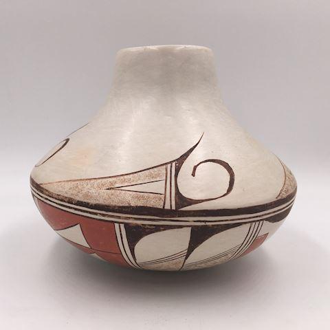 Nancy Lewis Native American Hopi Pottery Vase