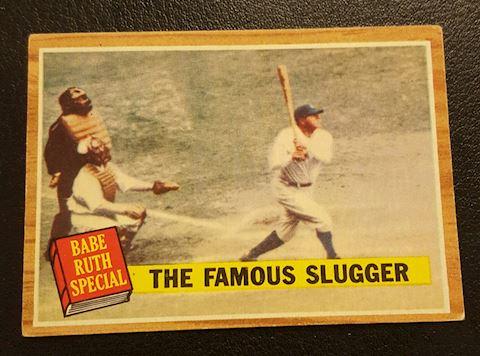 Vintage 1962 Babe Ruth Baseball Card #138