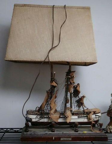 Great Republic Clipper Year 1835 Ship Lamp
