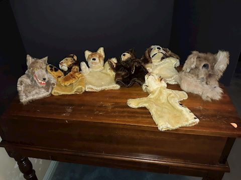 """SR  360  """"Hand Puppet Collection"""""""