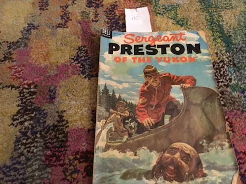 Sergeant Preston 1954 no 11