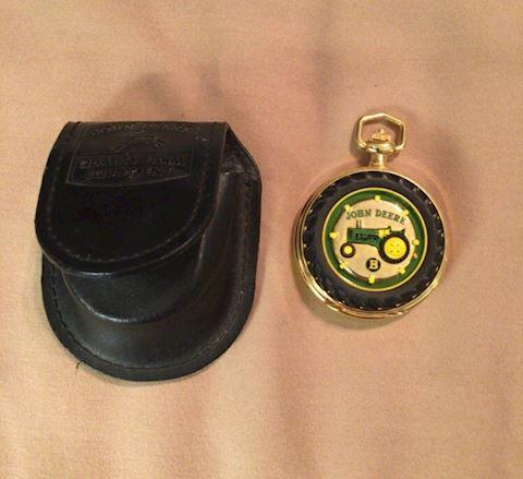 Franklin Mint John Deere Collectors Pocket Watch