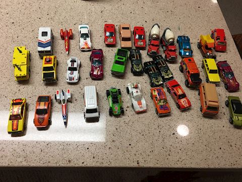 Lot of 32 Match Box cars from 70's and 80's