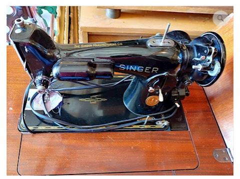 Antique The Singer Sewing Machine