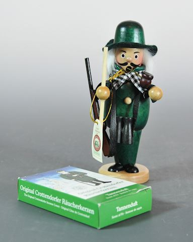 Sigro German Huntsman Incense Smoker Figure