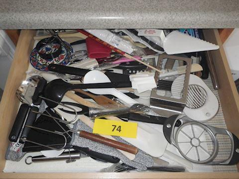 Lot #74 - Kitchen Gadgets