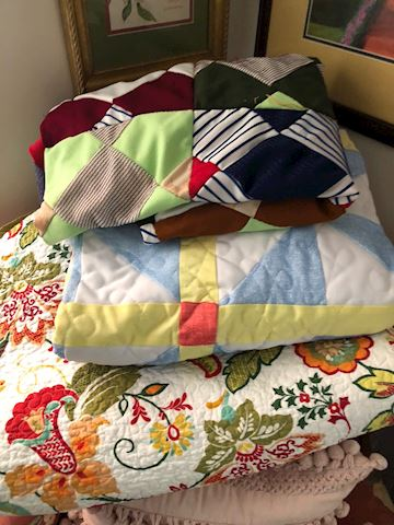 3 quilts