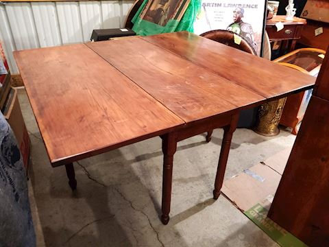 Antique Farm Table Solid Wood