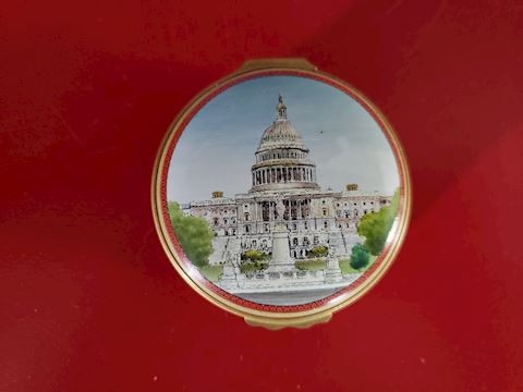 HALCYON DAYS CAPITOL OF THE UNITED STATES TRINKET