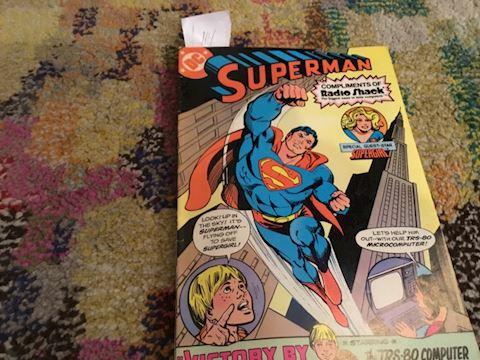 Superman...radio shack