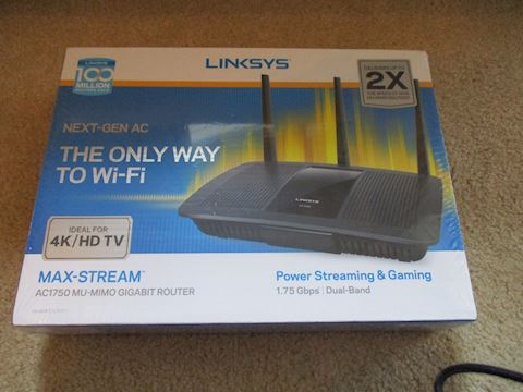 Linksys Power Streaming