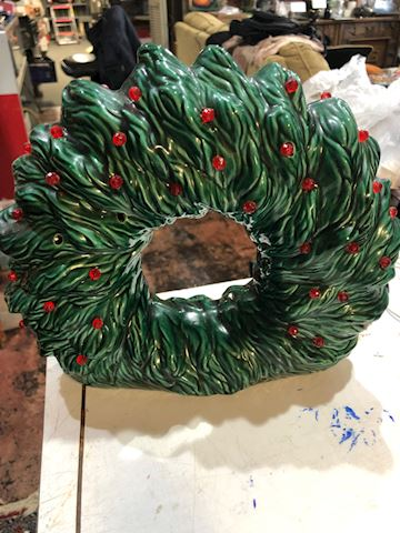 Vintage Holiday Christmas Wreath Holland MLD Lot03