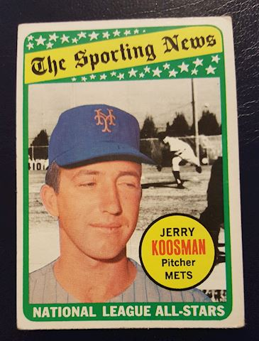 1969 Jerry Koosman Baseball Card #434
