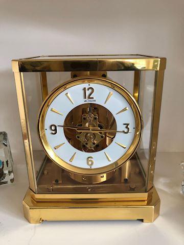 """LeCoultre """" Atmos"""" Clock"""