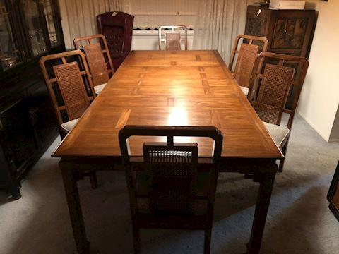 Dining Room Table - Seats up to 12 w/ Extension