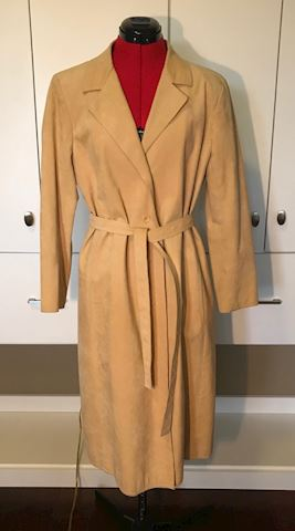 1970s Ultrasuede Full Length Coat