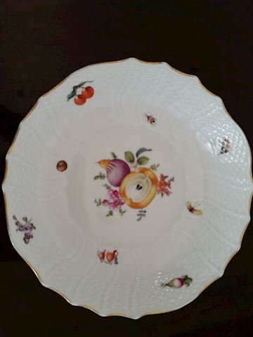 HEREND 1598/BFRN SERVING BOWL    8""