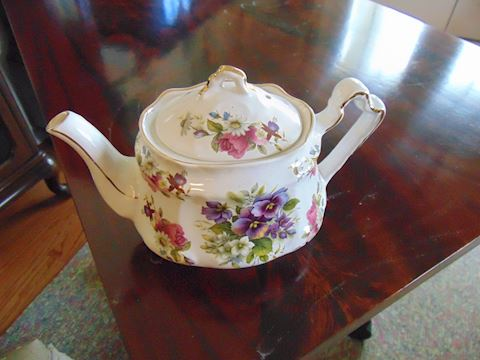 British Vintage Tea Pot