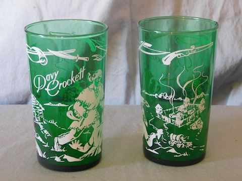 Two water tumblers