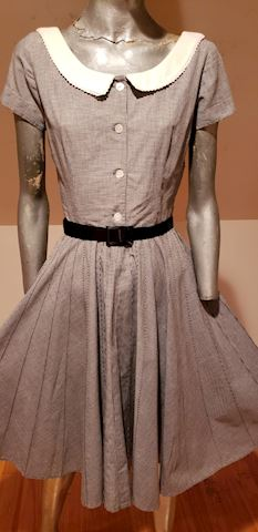 Jonathan Logan dress full sweep 1950