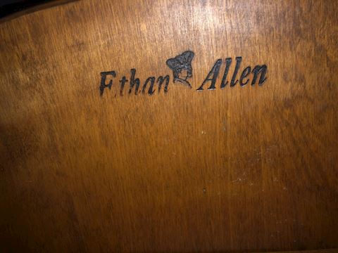 Ethan Allen small folding table