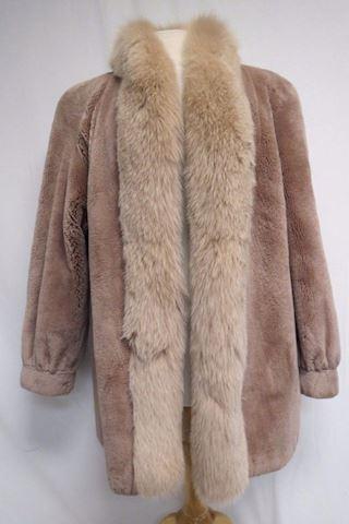 Christian Dior Vintage 1969 Beaver & Fox  Fur Coat