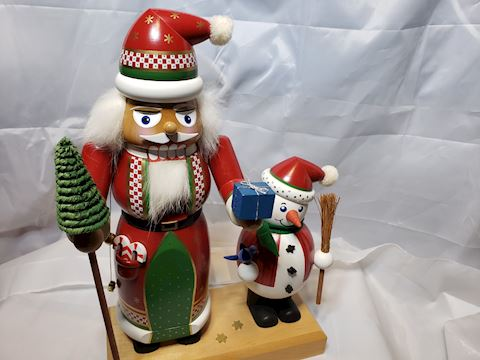 E.M. Merck Signed and numbered Nutcracker