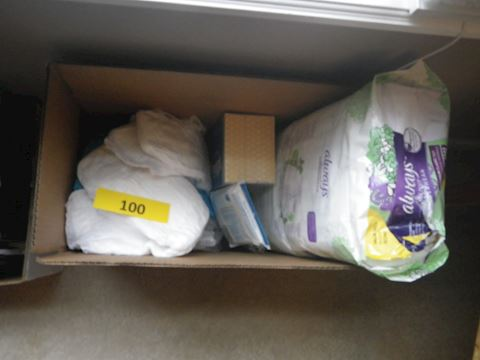 Lot #100 - Adult Diapers
