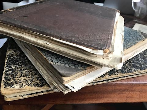 Lot 26 Antique 1880's music books gutar 6 strings